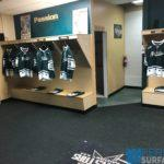 Hockey rubber flooring