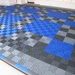 RaceDeck garage floor free-flow