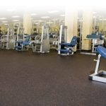 Gym rubber flooring