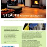 Stealth Acoustical Underlayment