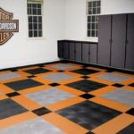 Harley garage flooring