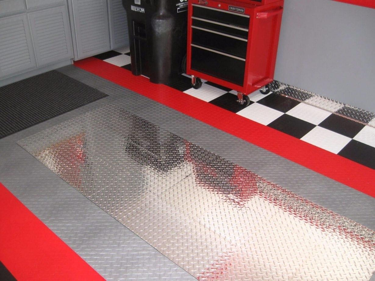 Racedeck pro perfect surfaces for Garage deck