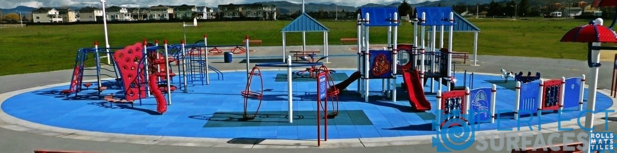 Playground Rubber Surfacing Perfect Surfaces - Spongy outdoor flooring
