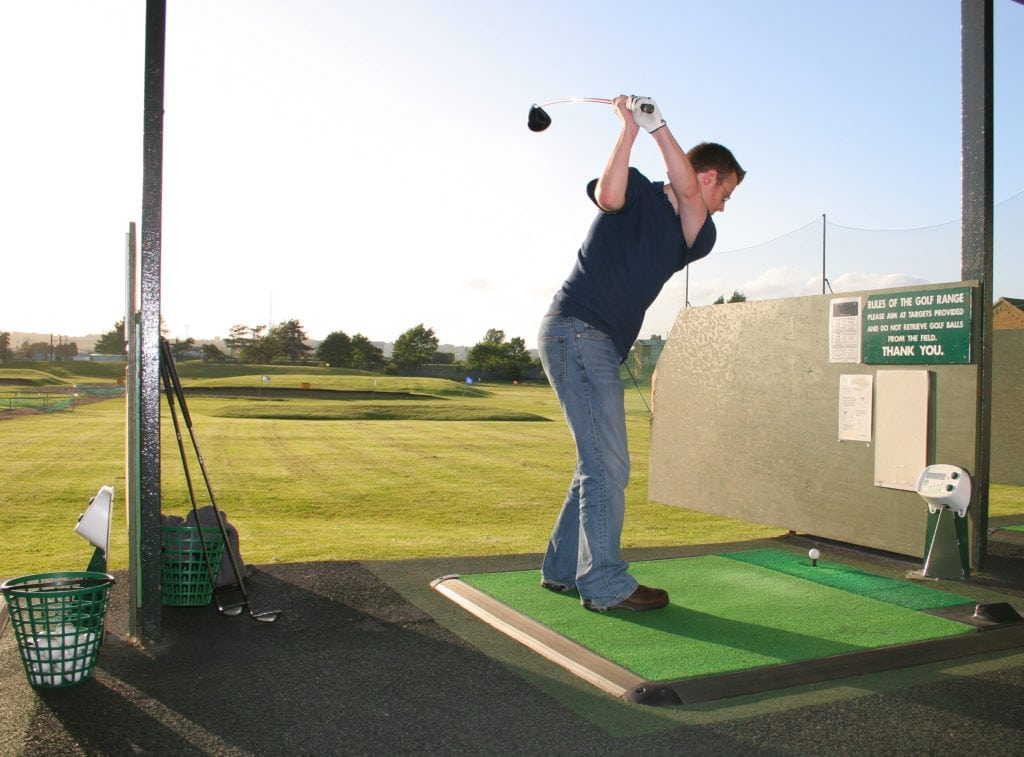 Golf Course Rubber Matting