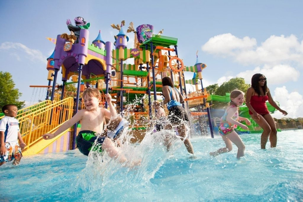 Water Park Rubber Surfacing