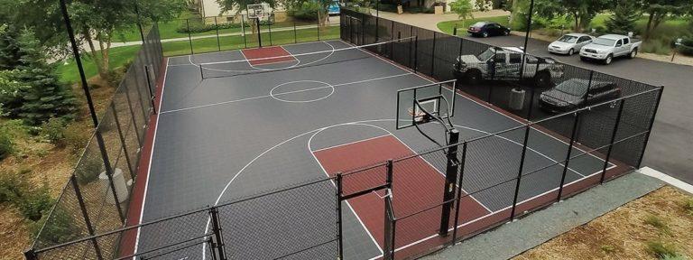 Inline Hockey Flooring, Volleyball Flooring, Sport Court. Multi Court  Sports Flooring, Basketball Flooring, Badminton Court Tiles, Indoor and Outdoor Sport Courts. Tennis Court Surfacing