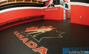 Gator Ice Arena Rubber Flooring