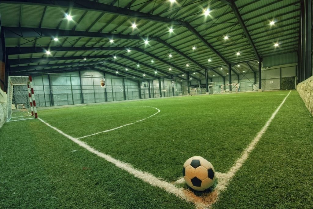 Indoor Athletic Sports Field