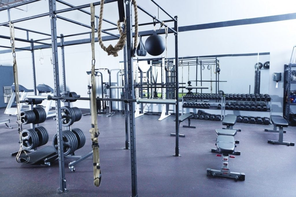 Fitness Facility Rubber Flooring