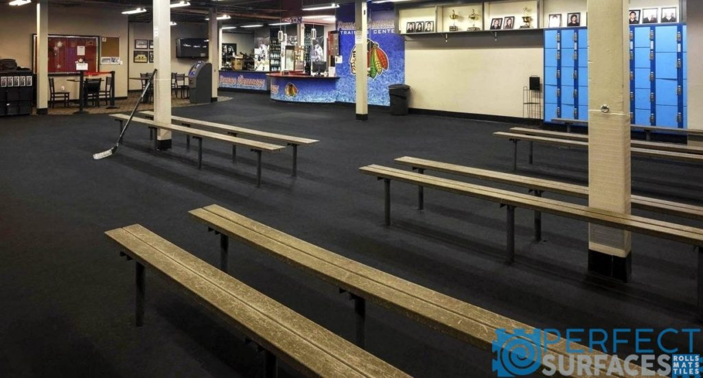 Arena Rubber Flooring