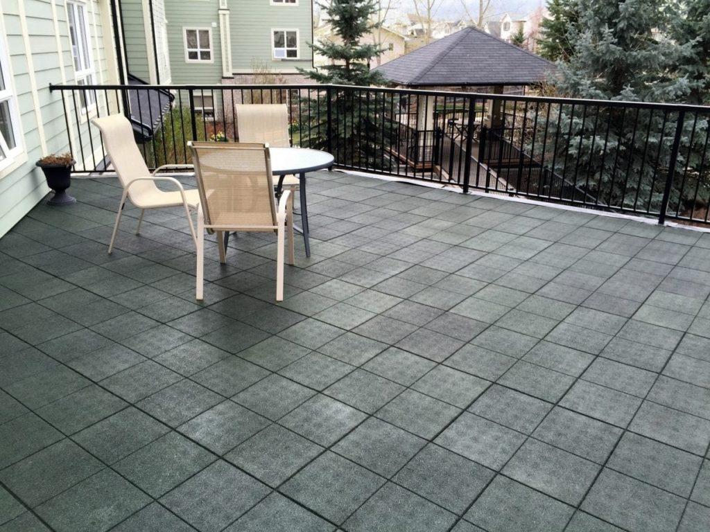 Patio Rubber Tiles