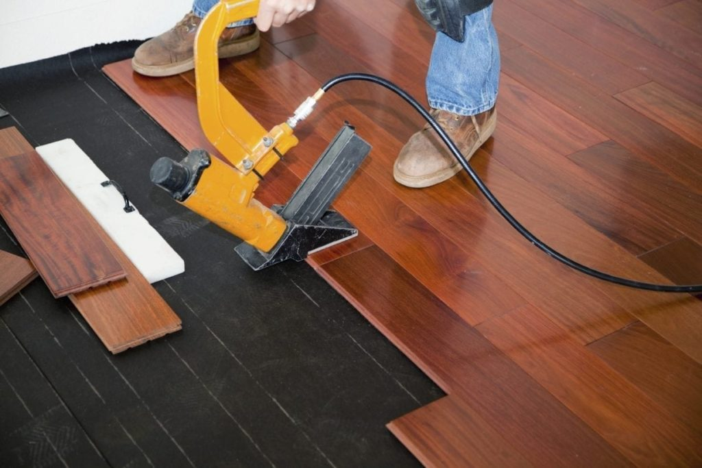Acoustic Underlay Rubber Flooring