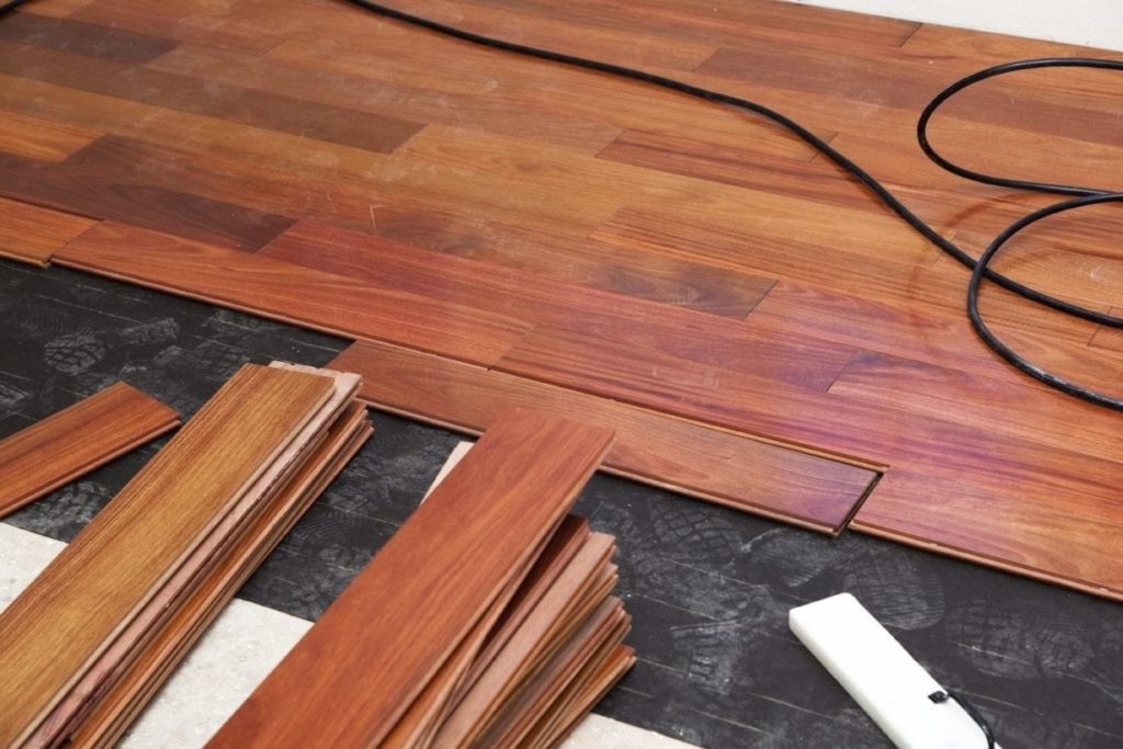 Acoustic Underlay Rubber Flooring
