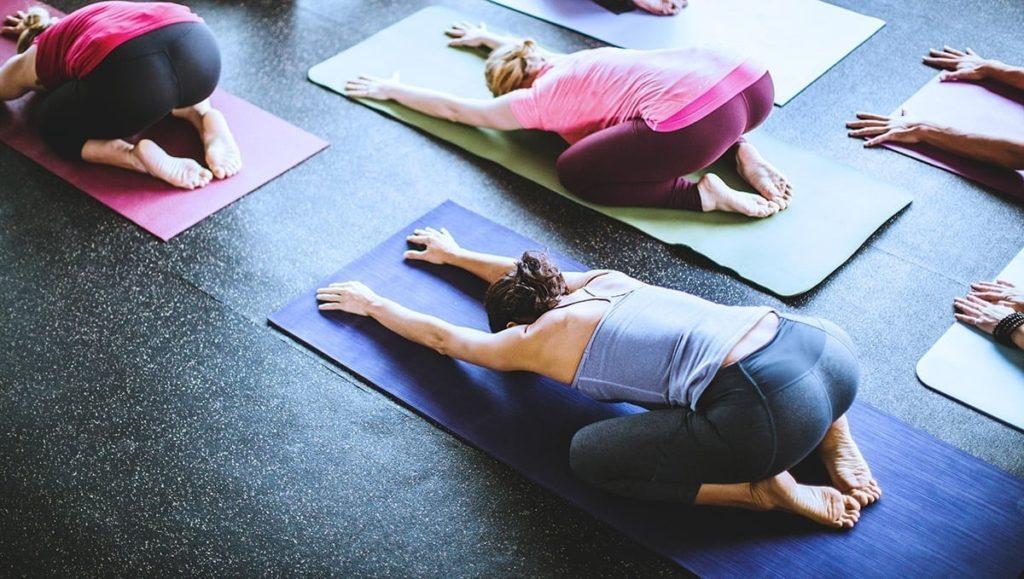 Yoga Studio Rubber Flooring