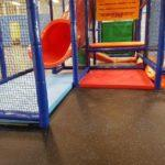 Stamina fun centre rubber floor