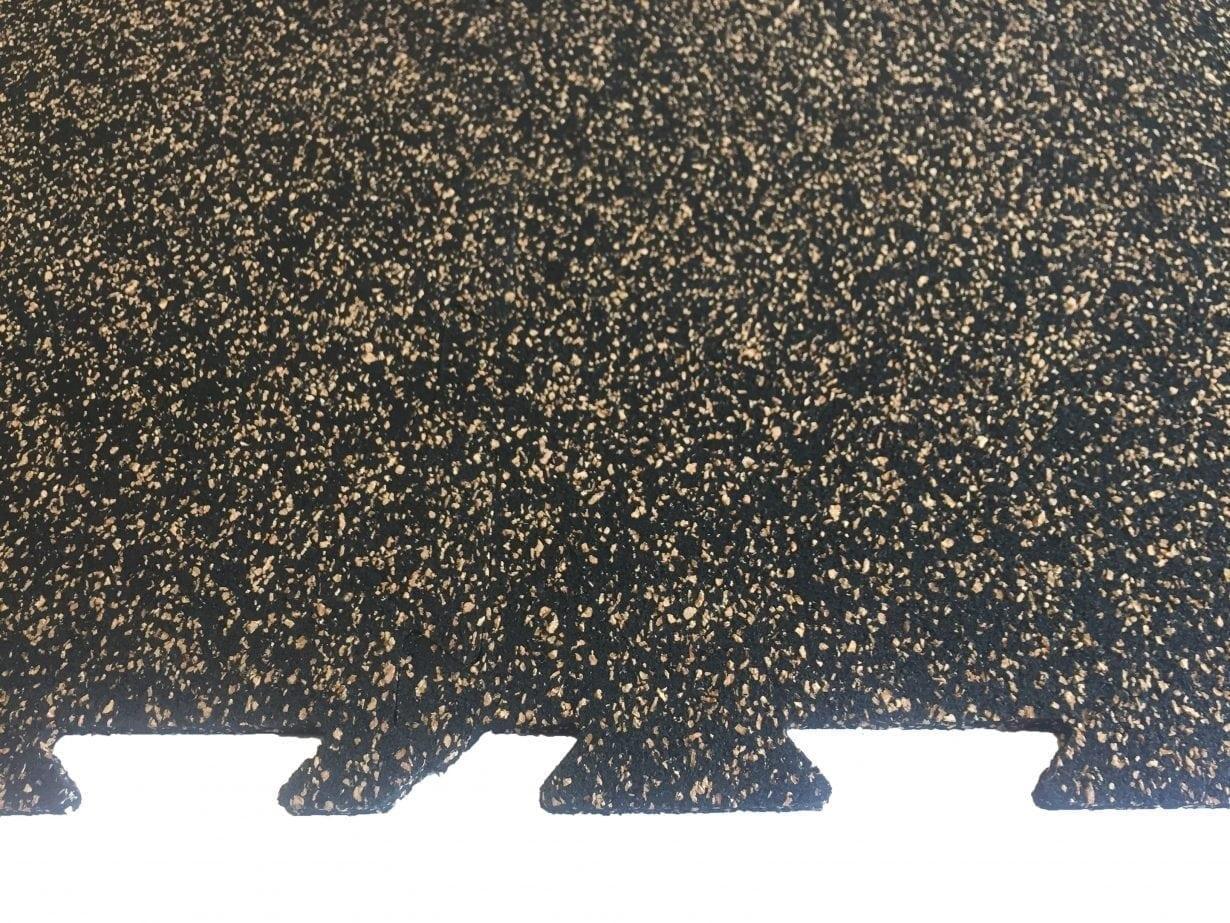 Gator interlock cork rubber perfect surfaces for Cork playground flooring