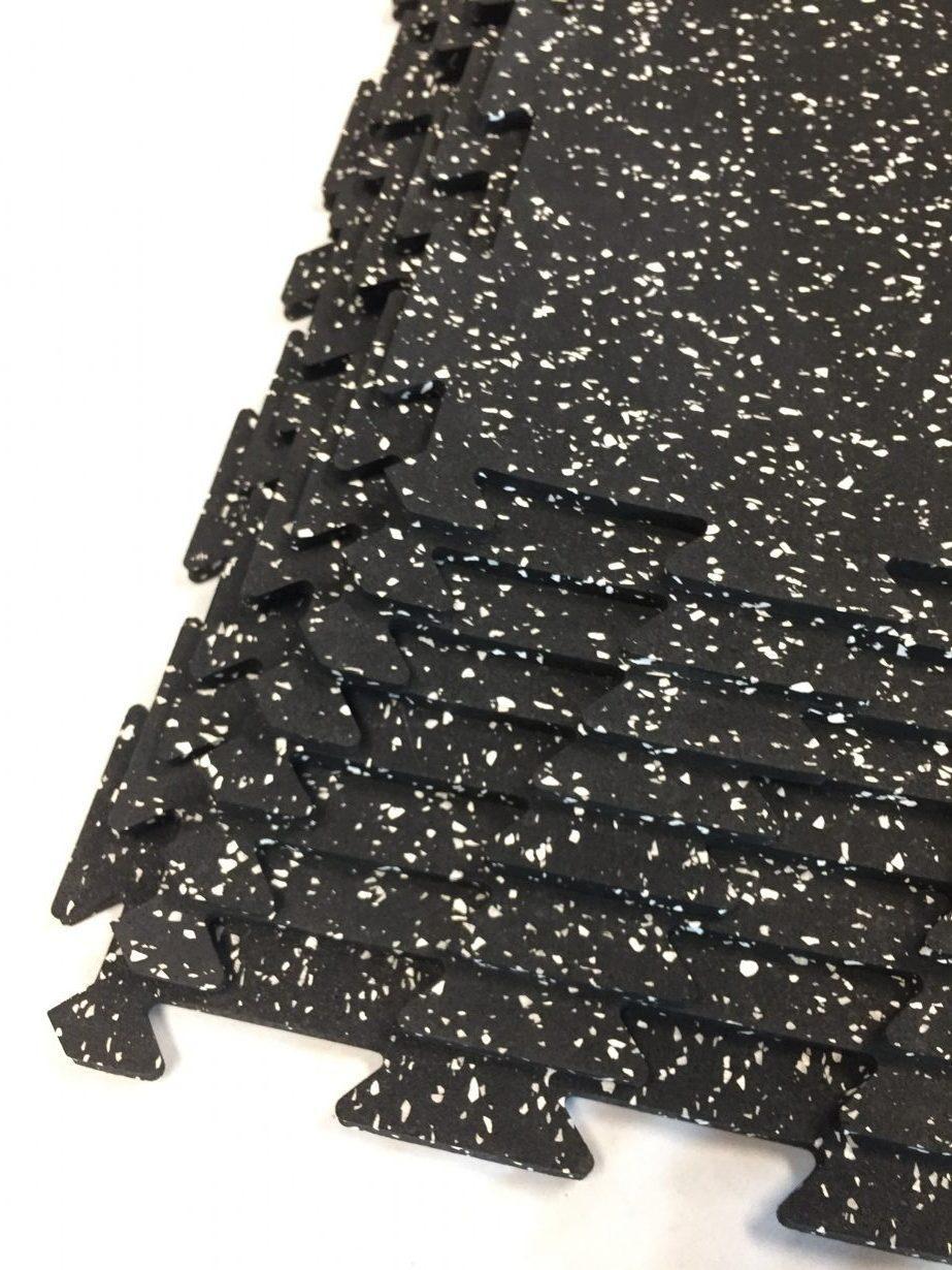 Perfect Surfaces Gator Interlock Tile Rubber Flooring